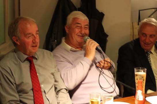 50 Anniversary with Frank Clark, Vic Keeble & Arthur Horsfield