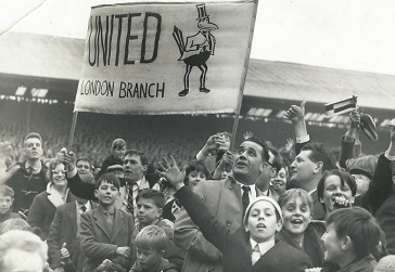 London 'branch' celebrating