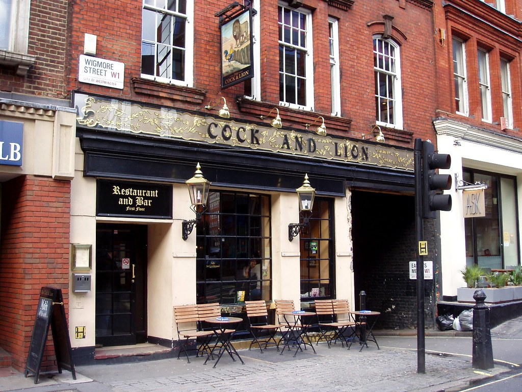 Cock and Lion, Wigmore street